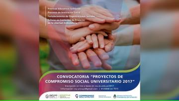 Convocatoria para presentar proyectos sociales en Bienestar Universitario