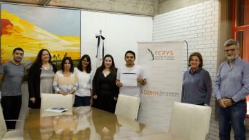 Facundo Quilpatay es el ganador del Certamen sobre Derechos Humanos