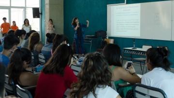 La Red PAR dictó una clase a estudiantes del ingreso 2017