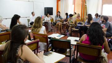 Organizaciones sociales participaron de un taller en la FCPyS