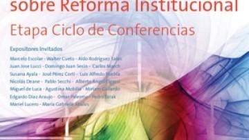Primer Congreso Provincial Sobre Reforma Institucional