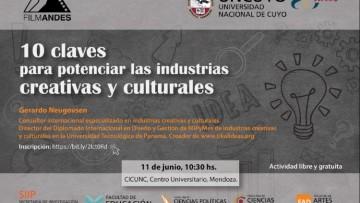 Capacitación sobre Industrias Creativas y Culturales en la UNCuyo