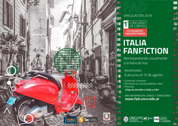 "Certamen de cortometrajes ""Italia FanFiction"""
