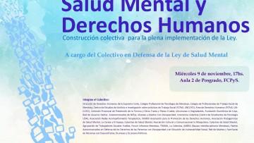 Se debatirá sobre la Salud Mental y los Derechos Humanos