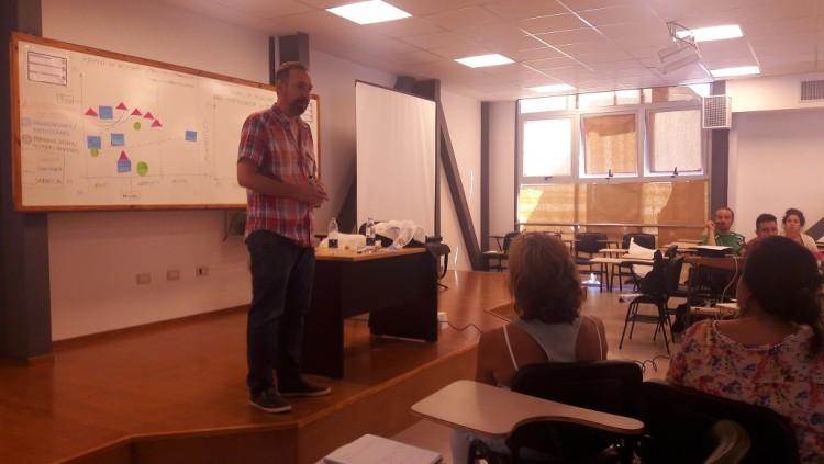 Se capacitó sobre extensión en el marco de la Escuela de Verano que se desarrollará en Mendoza