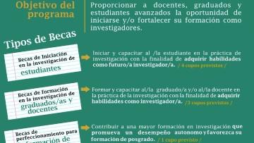 Convocatoria de Becas para la formación de Investigadorxs 2017-2018