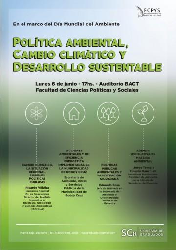 Debate  sobre Política Ambiental, Cambio Climático y Desarrollo Sustentable
