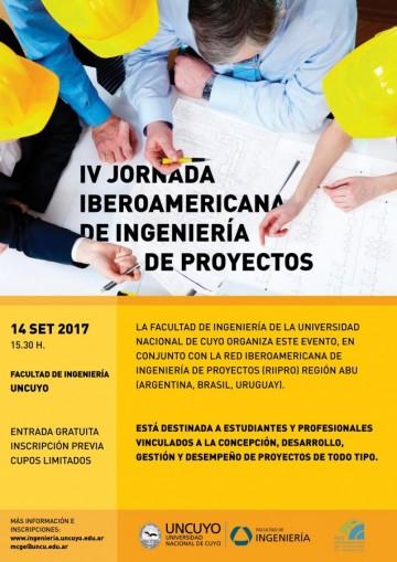 IV Jornada Iberoamericana de Ingeniería de Proyectos: Inscripciones abiertas