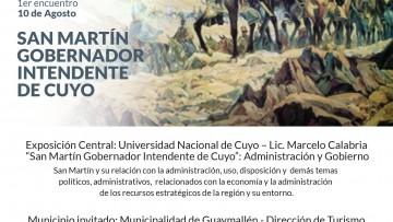 """Ciclo de Conferencias """"Rutas turísticas Sanmartinianas"""""""