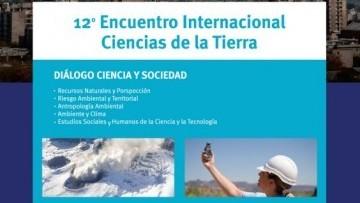 """E-ICES """"12 Encuentro Internacional Ciencias de la Tierra"""""""