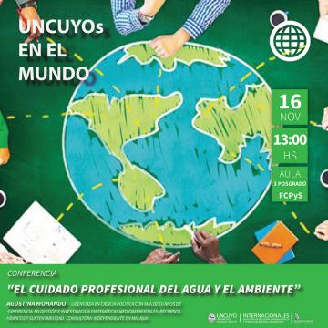 Conferencia: El cuidado profesional del agua y del medio ambiente