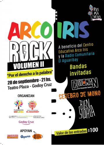 Arco Iris rock 2017 solidario