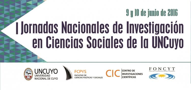 Jornadas Nacionales de Investigación en Ciencias Sociales