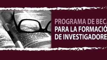 Convocatoria de becas para la formación de investigadores/as 2019