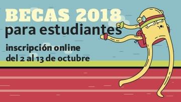 Convocatoria a Becas para Estudiantes 2018