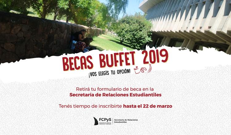 Listado de seleccionados/as para Becas Buffet 2019