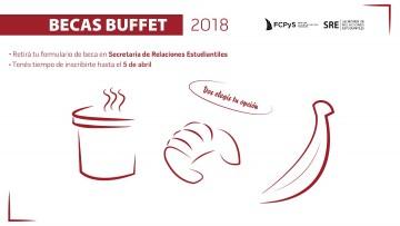 Convocatoria para las Becas Buffet 2018