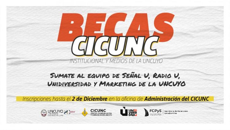 Becas CICUNC 2020