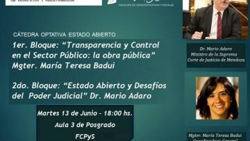 Charla debate sobre Transparencia y Estado Abierto