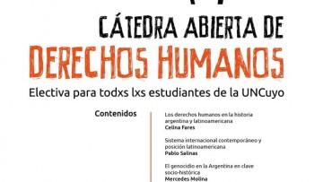 Cátedra abierta Derechos Humanos