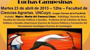 """Charla Debate """"Identidades y Actualidad de las Luchas Campesinas"""""""