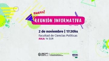 Nueva fecha de cierre para participar de la Convocatoria 2018 de Articulación Social