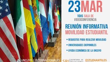 Reunión informativa sobre Movilidad Estudiantil