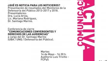"""Comienza el """"ciclo comunicación activa 2019"""""""