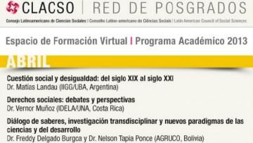 SEMINARIOS VIRTUALES- CLACSO 2013