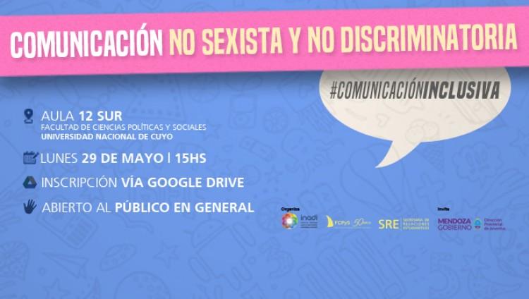 Taller sobre comunicación no sexista y no discriminatoria en la FCPyS