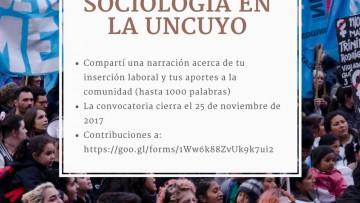 Convocatoria: 50 años de Sociología en la UNCuyo\