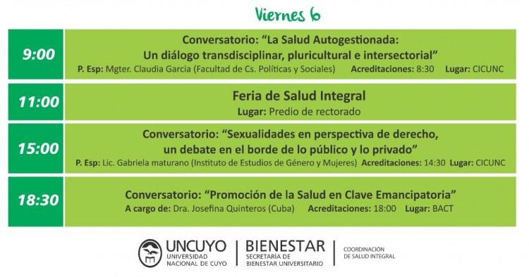 Cronograma - Salud Integral