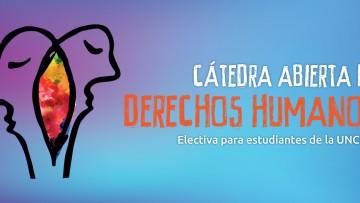 Cuarta cohorte de la cátedra abierta de Derechos Humanos
