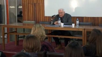 Armando Di Filippo, economista y consultor de la CEPAL, disertó en FCPyS