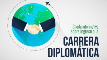 Charla informativa sobre ingreso a la carrera diplomática
