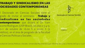 Seminarios: Doctorado en Ciencias Sociales