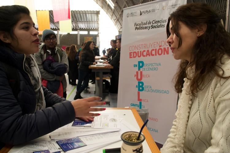 La FCPyS presente en la Expo Educativa 2018