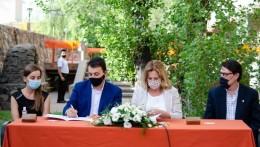 Se revalidó el acuerdo entre la FCPYS y la comuna de Godoy Cruz por el Observatorio Social