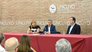 Mendoza en el mundo: la UNCuyo inauguró un Centro de Estudios Internacionales