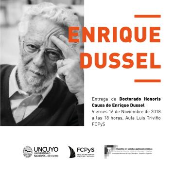 La FCPyS entregará Doctorado Honoris Causa a  Enrique Dusel