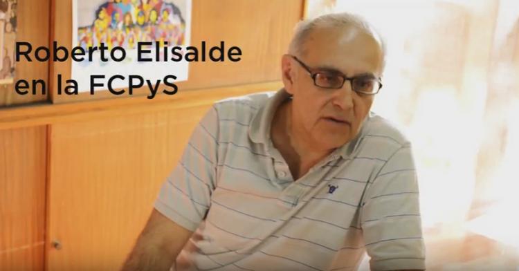 Roberto Elisalde visitó la FCPyS