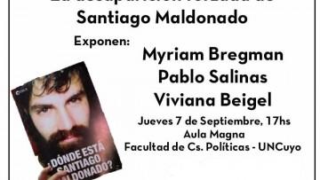 Charla- Debate: La desaparición forzada de Santiago Maldonado
