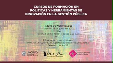 Cursos de Formación en Políticas y Herramientas de Innovación en la Gestión Pública