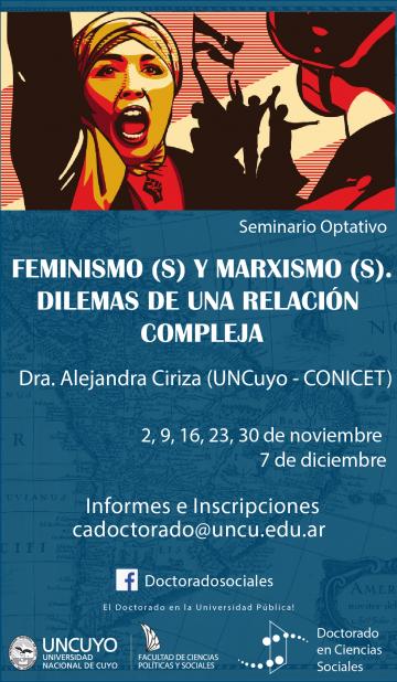 """Seminario """"Feminismo(s)  y marximo (s). Dilemas de una relación Compleja"""""""