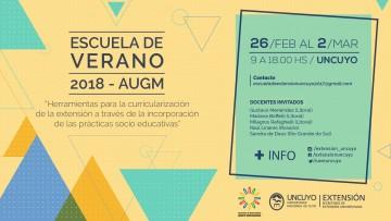 Comienza la edición 2018 de la Escuela de Verano - AUGM