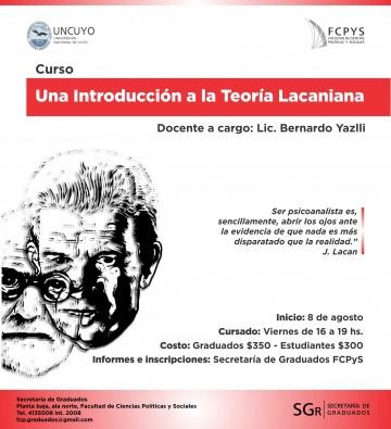 Curso \Una introducción a la teoría lacaniana\