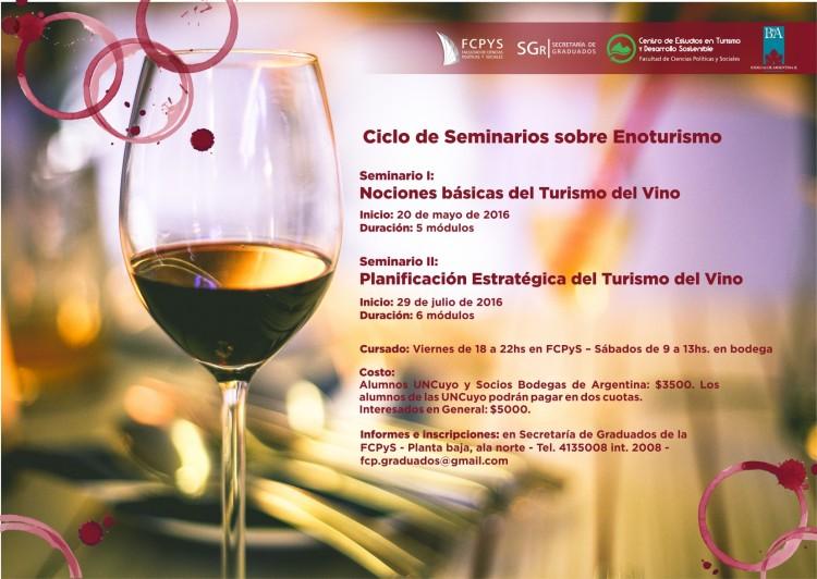 Ciclo de Seminarios en turismo del vino