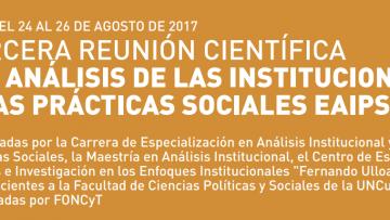 La FCPyS realizará el encuentro de Análisis de las Instituciones y las Prácticas Sociales