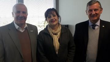 La UNCUYO firmó convenio con Radio Nacional para prácticas profesionales