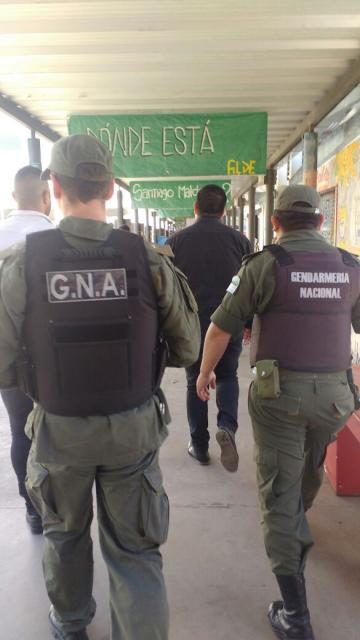 Repudio al ingreso de Gendarmería a la Universidad Nacional de Rosario